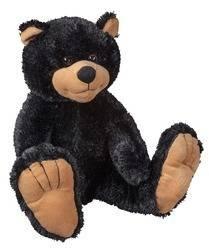 Bigfoot Black Bear 14 Plush Stuffed Teddy Bear Animal Toy