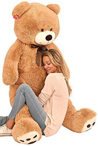 Kangaroos Jumbo 5 Foot Stuffed Teddy Bear Plush Toy