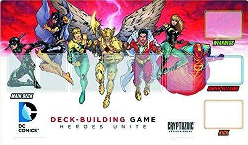 Cryptozoic Entertainment DC Deck Building Heroes Unite Playmat by Cryptozoic Entertainment