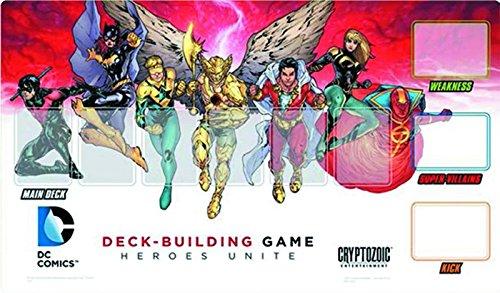 DC Deck Building Game Heroes Unite Playmat