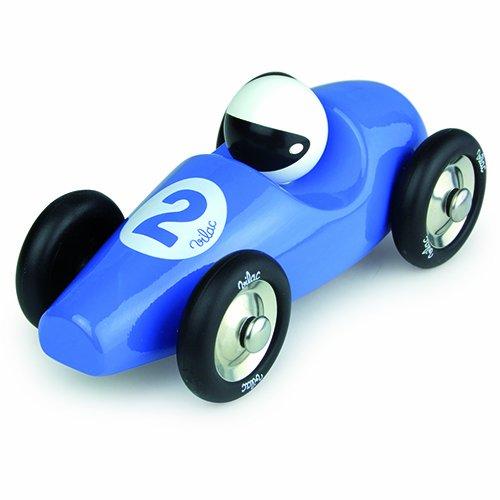 Vilac Race Car Toy Blue