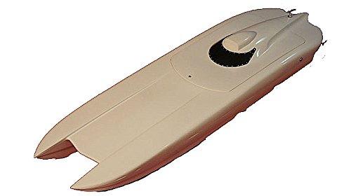 35 Rc Rc Ep Epoxy Fiberglass Twin Power Catamaran Cat Racing Boat Ship Kit