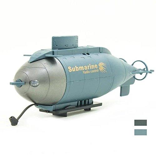 Mini 6-Channel Remote Control Submarine Blue