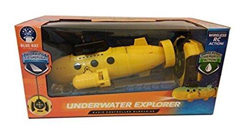 Remote Control Submarine - UNDERWATER EXPLORER - Yellow by Blue Hat