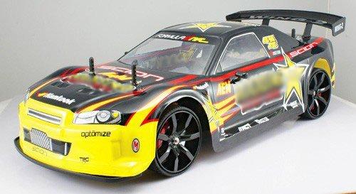 110 scale of 4 Wheel Drive 4WD DRIFT RC RACING CAR Rockstar radio remote control rc vehicle auto automobile MC02-G by AZ Importer