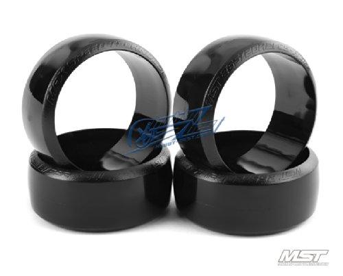 MST Cs-r Tire Hard 4 Pcs Rc 110 Drift Car Wheels 101026