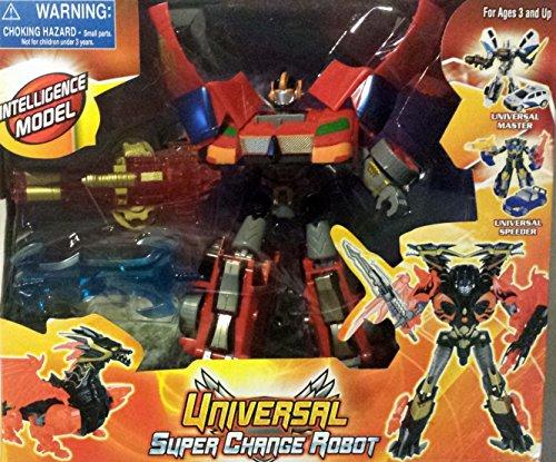 Universal Super Change Intelligence Transformer Model Robot -Toy for Kids Age 3
