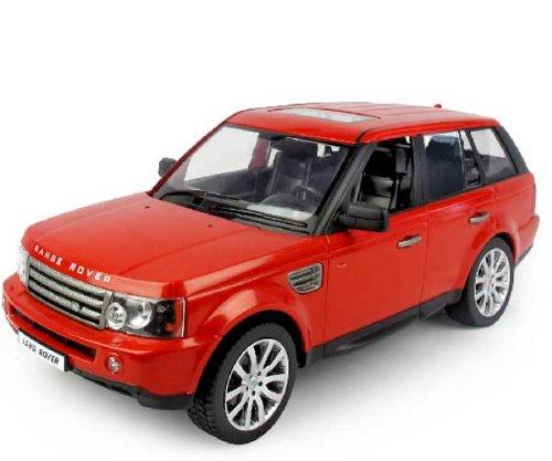 RASTAR 124 RC Car Toy Radio Control Land Rover-Range Rover Sport Car-Red