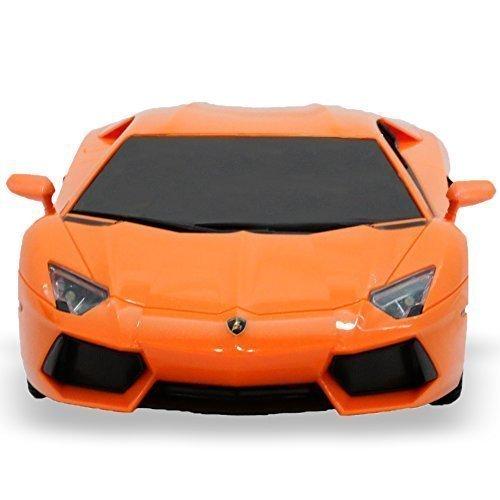 RW Lamborghini Aventador RC Car Toy Radio Remote Control Car 1 18 Scale Orange