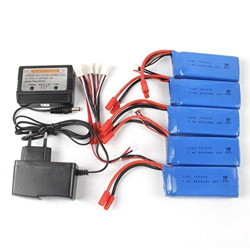 VESNIBA 74V 2000mAh Li-Polymer Battery  Balance Charge For X8CX8WX8GX8HCX8HWX8HG