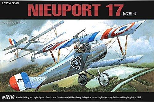 Academy 12110 NIEUPORT 17 132 Aircraft Toy Plastic Hobby Model Kit NIB New item G4W8B-48Q59302