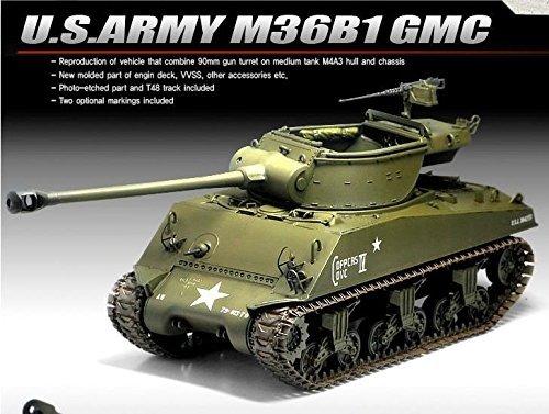 Academy 13279 135 USARMY M36B1 GMC Plastic Hobby Model Kit New item G4W8B-48Q15967