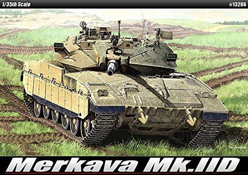 Academy 13286 Merkava MkIID 135 Plastic Hobby Model Kit NIB New ITEMG839GJ UY-W8EHF3194389