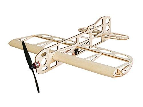 RC Airplane Balsawood Airplane Geebee Wingspan 600mm Laser Cut Balsa Wood Model Plane Building Kit  Power System  Covering