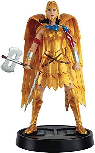 Eaglemoss DC Super Hero Collection Wonder Woman Mythologies 2 Golden Eagle Armor Figurine 5 Multicolor