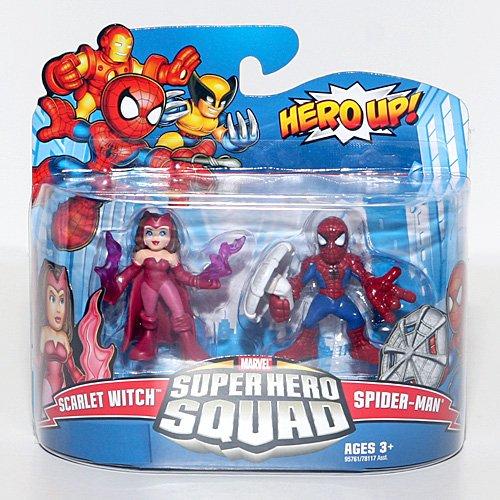 Marvel Superhero Squad Series 17 Mini 3 Inch Figure 2Pack SpiderMan Scarlet Witch