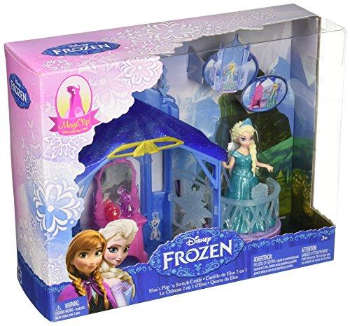 Disney Frozen MagiClip Flip N Switch Castle and Elsa Doll