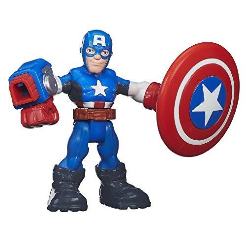 Playskool Heroes Marvel Super Hero Adventures Shield Slingin Captain America 25 Inches