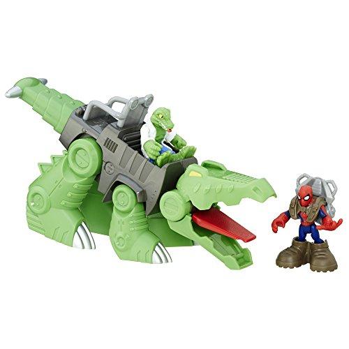 Playskool Heroes Marvel Super Hero Adventures Spider-Man Gator-Bot