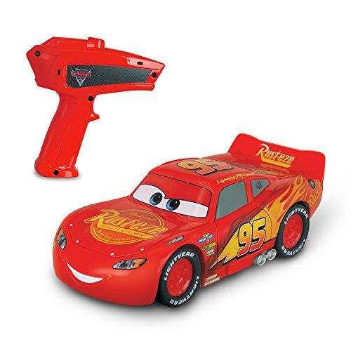 Cars Crazy Crash Smash Lightning McQueen RC Car