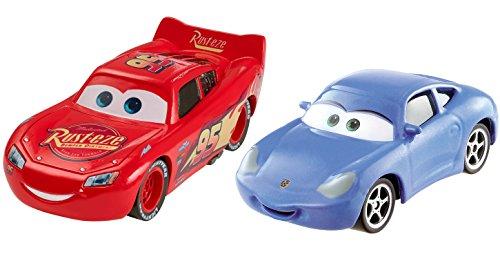 Disney Pixar Cars 3 Lightning McQueen Sally Die-cast Vehicle 2-Pack