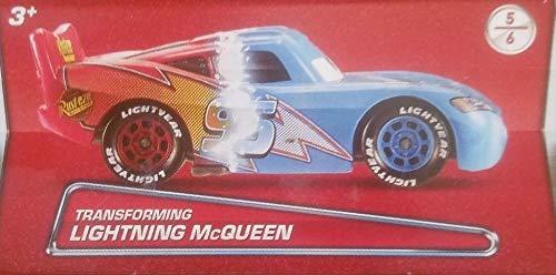 Transforming Mcqueen Disney Cars 155 Scale Diecast Box Edition