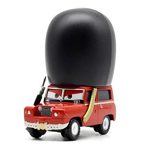 Disney 15 Styles Disney Pixar Cars2 3 Metal Car Sarge Lizzie 155 Diecast Metal Alloy Toys Birthday for Kids Cars Toys 3
