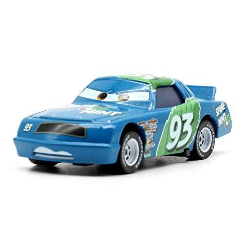 Disney 15 Styles Disney Pixar Cars2 3 Metal Car Sarge Lizzie 155 Diecast Metal Alloy Toys Birthday for Kids Cars Toys 5