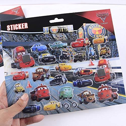Disney Disney Pixar Cars 3 2 Sarge Lightning McQueen Jackson Storm Ramirez Mater 155 Diecast Metal Alloy Model Cars Kid Gift Boy Toy Sticker