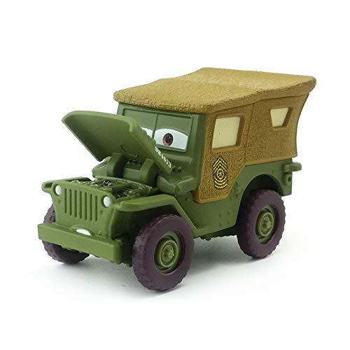 Disney Disney Pixar Cars Precision Series Sarge 155 Diecast Metal Alloy Toy Car Model Loose Kids Boy Xmas Gift