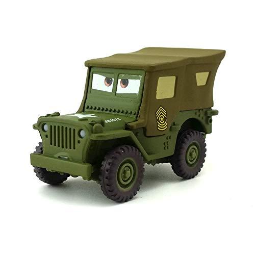 Disney Disney Pixar Cars Sarge 155 Diecast Metal Alloy Toy Car Model Loose Kids Boy Birthday Xmas Gift
