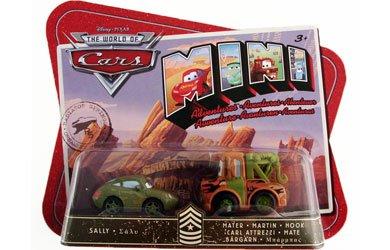 Disney  Pixar CARS Movie Toy Mini Adventures Sarges Boot CampÿSally Mater