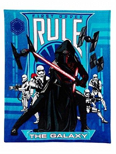 Disney Star Wars Rule The Galaxy Micro Plush Throw Blanket Ultra Soft Cuddly