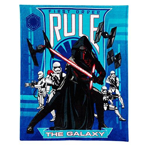 Disney Star Wars The Force Awakens Rule the Galaxy Throw Blanket 50 x 60