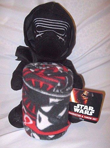 Grannys Best Deals C Disney 18 Star Wars Kylo Plush  40 x 50 Star Wars Throw-Licensed Product-New