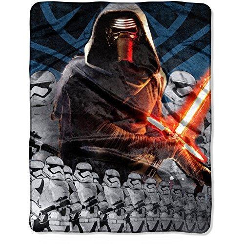 Star Wars The Force Awakens Kylo Ren 40 x 50 Silky Soft Throw Blanket