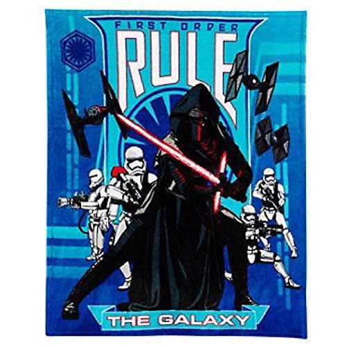 Star Wars The Force Awakens Kylo Ren Plush Throw Blanket