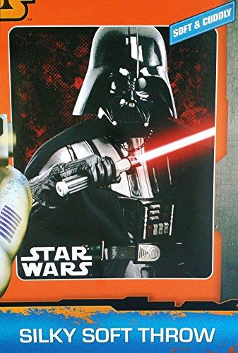 Star Wars Throw Fleece Plush Soft Starwars The Force Awakens Big Darth Vader Plush Throw