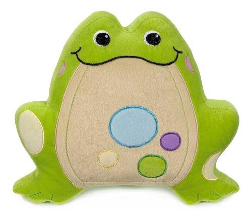 Green Frog Pillow - Ganz Kids Soft Plush Toad Pillow