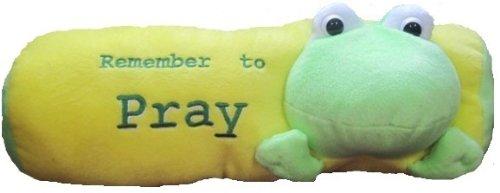Remember to Pray Frog Pillow