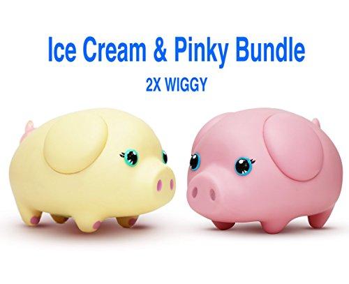 Wiggy Smart Piggybank Ice Cream Pinky Bundle