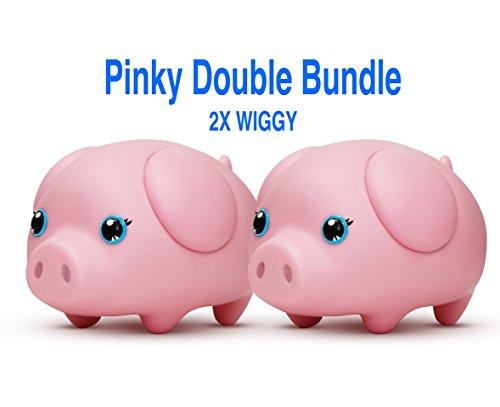 Wiggy Smart Piggybank Pinky Double Bundle