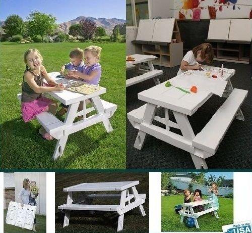 Generic YZ_737918YZ_7 Picnic Table ld Kids Chair Set Bench hair S Folding Portable ch Ou Children Child Kids Beach Outdoor Beach YZ_US7_160606_158
