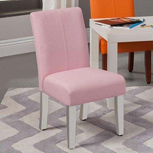 Kinfine Parsons Upholstered Kids Chair - Set of 2
