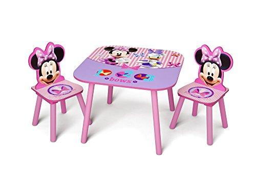Delta Children Table Chair Set Disney Minnie Mouse