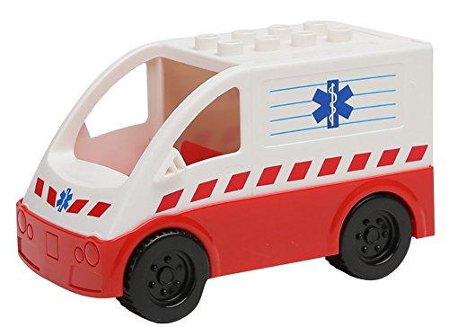 Generic Plastic Toy Car Color White
