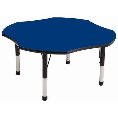 ECR4Kids 48 Clover Adjustable Activity Table