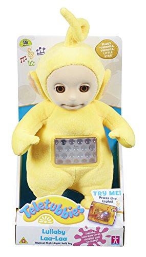 Teletubbies Lullaby Laa Laa Musical Night Light Soft Toy