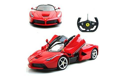 114 Scale Ferrari La Ferrari LaFerrari Radio Remote Control Model Car RC RTR Open Doors Color May Vary