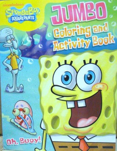 SPONGEBOB COLORING ACTIVITY BOOK B